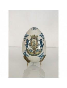 Uovo porcellana con decoro...