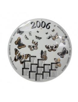 Piatto Calendario da collezione anno 2006 Fornasetti