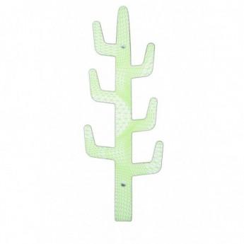Cactus Appendiabiti.Ccreativando Appendiabiti Da Parete Cactus Saguaro Variante Lime