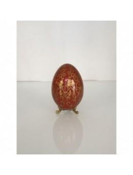 Uovo bronzo e porcellana...