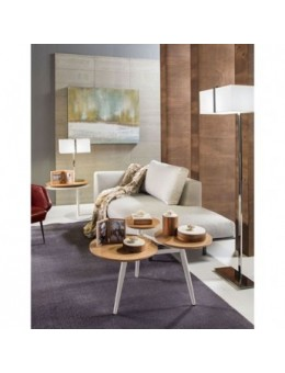 Tavolino 3 piani in legno