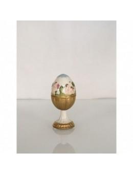 Uovo in porcellana e oro zecchino piccolo