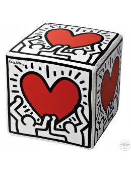 Pouf HEART - Keith Haring