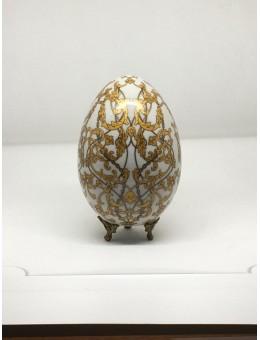 Uovo Porcellana Ricami