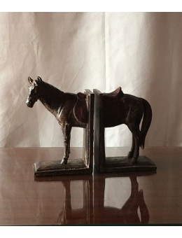 Ferma libri Cavallo Resina